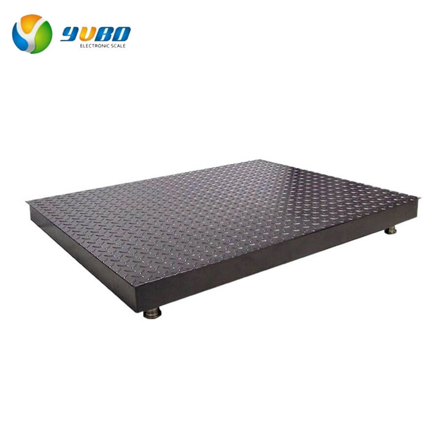 Single Deck Electronic Floor Weighing Scales