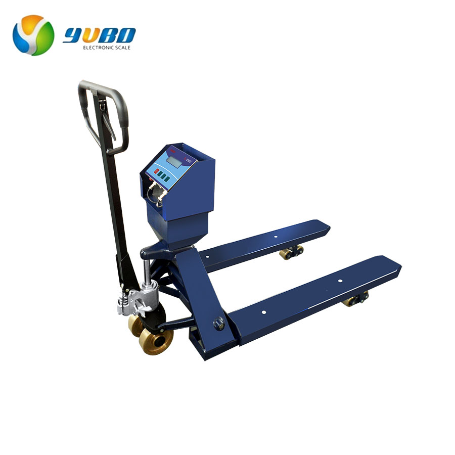 Explosion-proof Jack Pallet Truck Scales / Pallet Weighing Scales